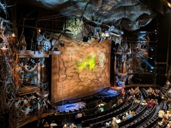 Gershwin Theatre, vak: FMEZZ, rij: BB, stoel: 1