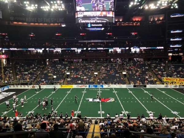 Nationwide Arena, vak: C3, rij: D, stoel: 20