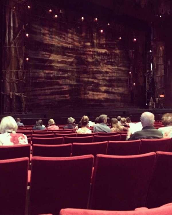 San Diego Civic Theatre, vak: Orchestra, rij: K, stoel: 53