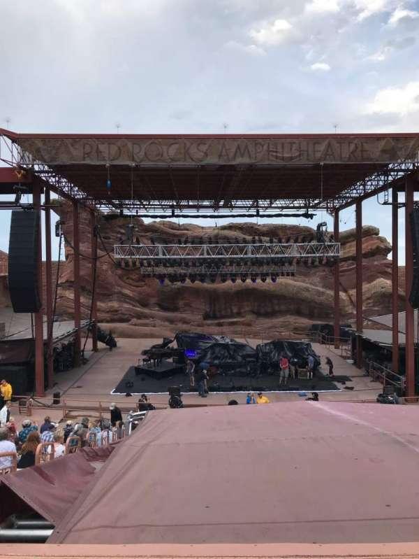 Red Rocks Amphitheatre, vak: Center, rij: 17, stoel: 65