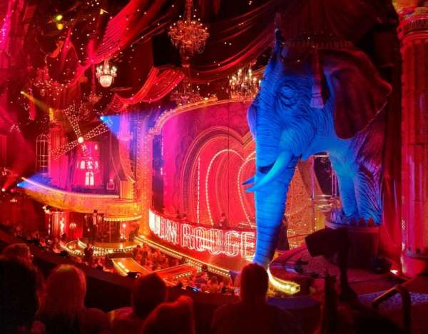 Al Hirschfeld Theatre, vak: Mezz Right, rij: C, stoel: 26