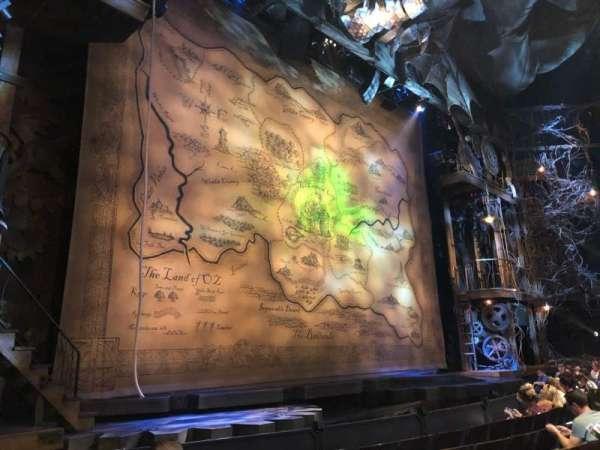 Gershwin Theatre, vak: L Orch, rij: C, stoel: 9