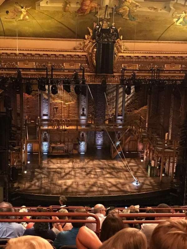 Hippodrome Theatre, vak: Center Upper Balcony, rij: Q, stoel: 301