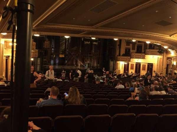 Hippodrome Theatre, vak: Left Orchestra, rij: AA, stoel: 27