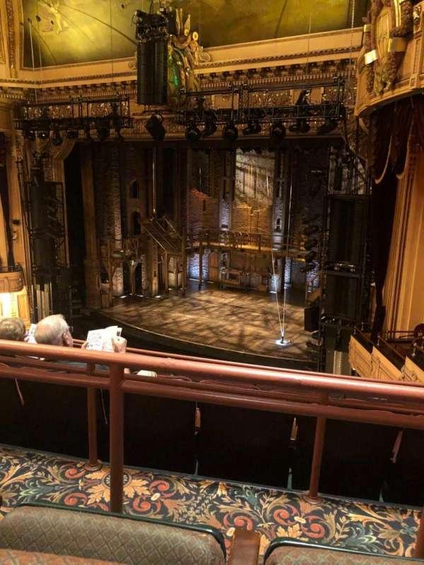 Hippodrome Theatre, vak: Right Middle Balcony, rij: E, stoel: 216