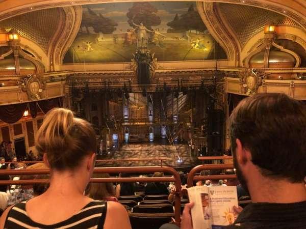 Hippodrome Theatre, vak: UCBAL, rij: N, stoel: 112