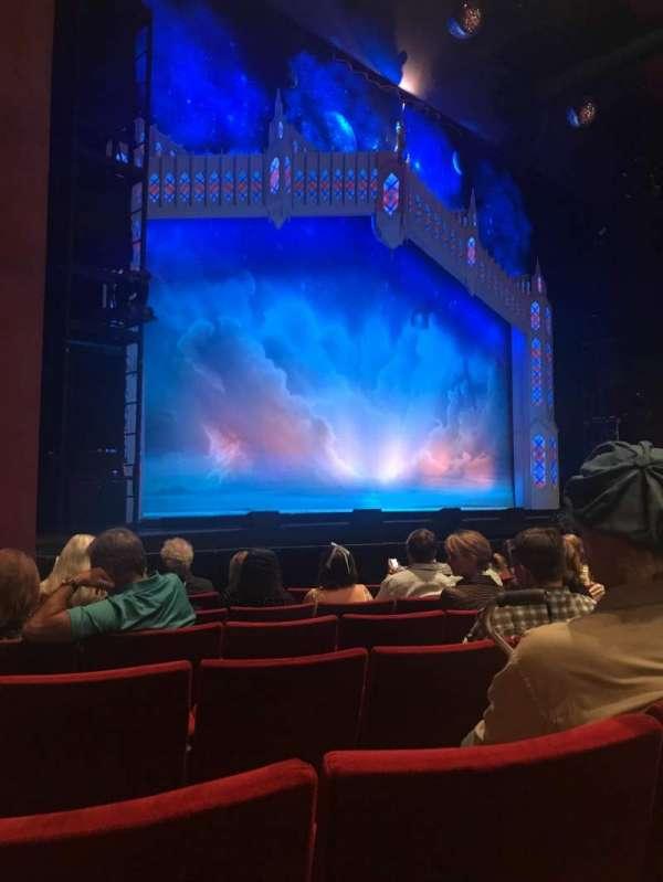 San Diego Civic Theatre, vak: ORCHLS, rij: E, stoel: 49