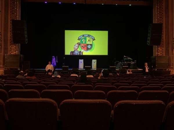 Hippodrome Theatre, vak: Center Orchestra, rij: N, stoel: 107