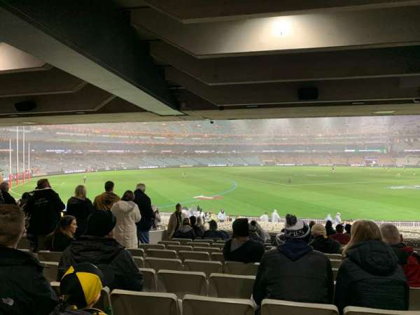 Melbourne Cricket Ground, vak: M42, rij: Kk, stoel: 11
