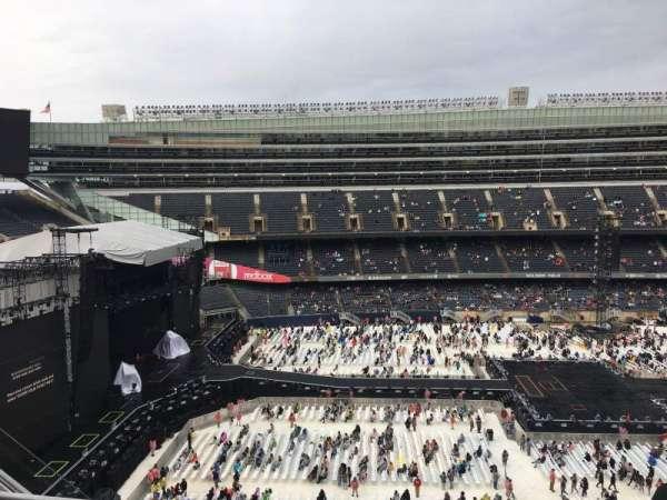 Soldier Field, vak: 441, rij: 3, stoel: 8