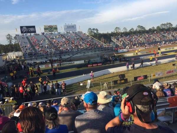 Gainesville Raceway, vak: Tec 1, rij: 15, stoel: 6