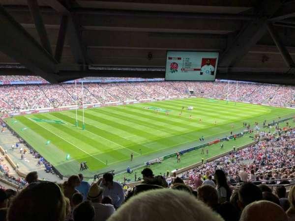 Twickenham Stadium, vak: M13, rij: 75, stoel: 364