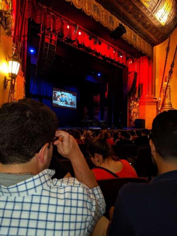 Beacon Theatre, vak: Orchestra 3, rij: L, stoel: 39