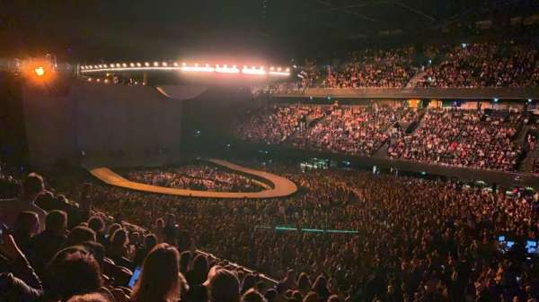 Ziggo Dome, vak: 108, rij: 14, stoel: 300
