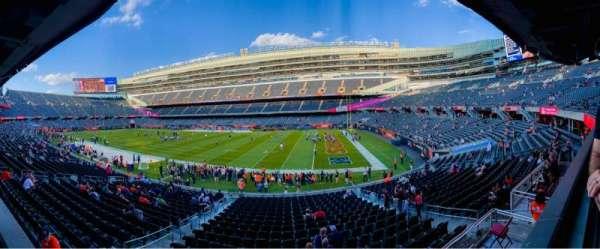 Soldier Field, vak: 232, rij: 1