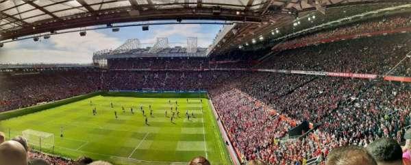 Old Trafford, vak: E336, rij: 3, stoel: 22