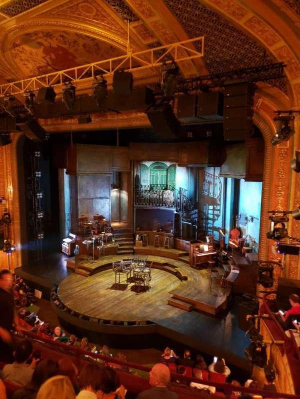 Walter Kerr Theatre, vak: Right Mezzanine, rij: E, stoel: 22