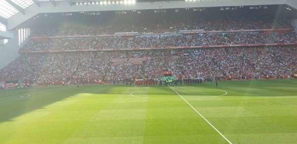 Anfield, vak: KK, rij: 14, stoel: 136