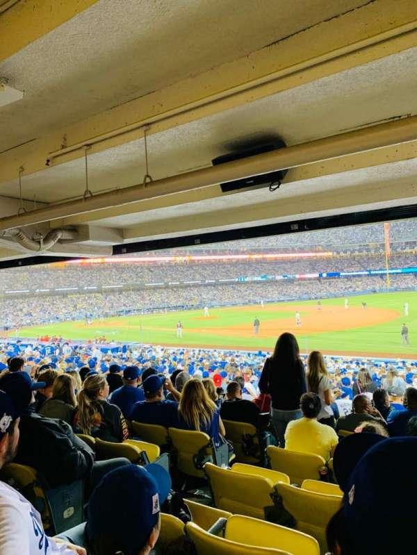 Dodger Stadium, vak: 36FD, rij: X, stoel: 6