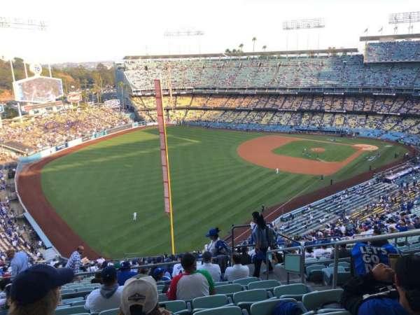 Dodger Stadium, vak: 53RS, rij: HH, stoel: 4