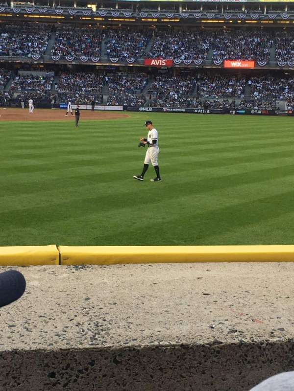 Yankee Stadium, vak: 104, rij: 2, stoel: 15
