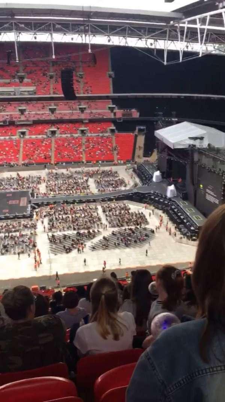Wembley Stadium, vak: 551, rij: 33, stoel: 355