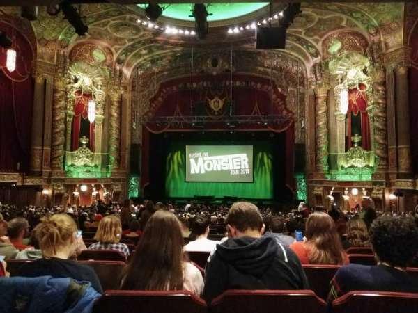 Kings Theatre (Brooklyn), vak: 6, rij: II, stoel: 108