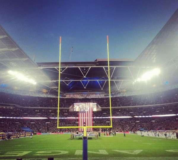 Wembley Stadium, vak: 134, rij: 8, stoel: 1