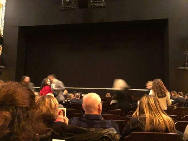 Bernard B. Jacobs Theatre, vak: Orchestra C, rij: K, stoel: 104