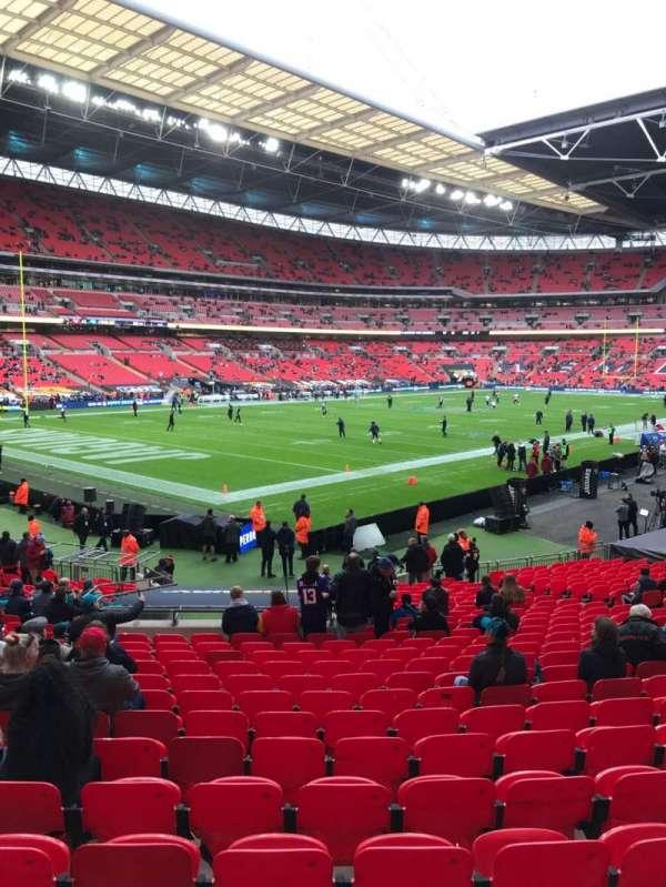 Wembley Stadium, vak: 128, rij: 26, stoel: 128