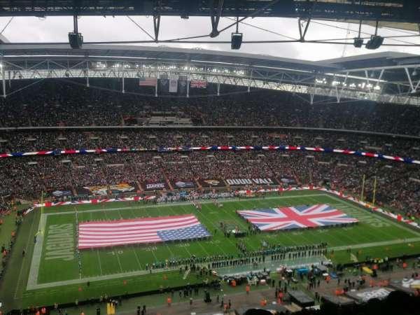 Wembley Stadium, vak: 504, rij: 32, stoel: 94