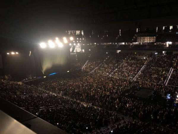 Dickies Arena, vak: 222, rij: 1, stoel: 1