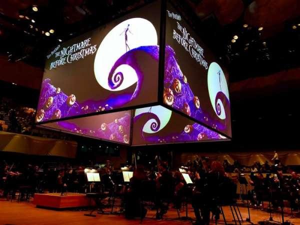 Boettcher Concert Hall, vak: Orchestra 1, rij: G, stoel: 60