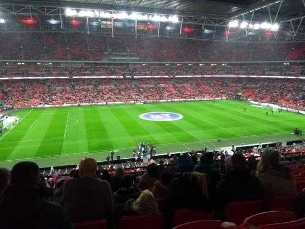 Wembley Stadium, vak: 203, rij: 15, stoel: 36