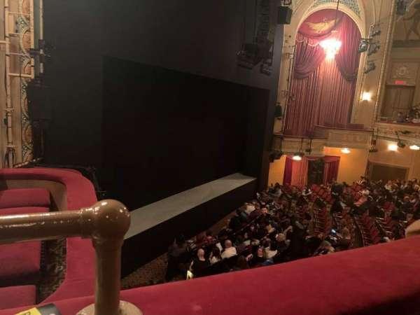 Bernard B. Jacobs Theatre, vak: Mezzanine L, rij: A, stoel: 27