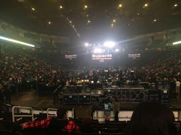 Infinite Energy Arena, vak: 122, rij: J, stoel: 17