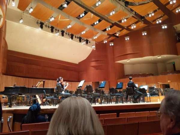 Joseph Meyerhoff Symphony Hall, vak: Orch, rij: G, stoel: 19