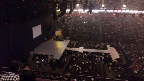 Manchester Arena, vak: 202