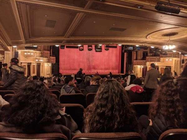 Hippodrome Theatre, vak: Left Orchestra, rij: DD, stoel: 3