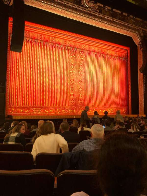 Hippodrome Theatre, vak: Left Orchestra, rij: N, stoel: 7