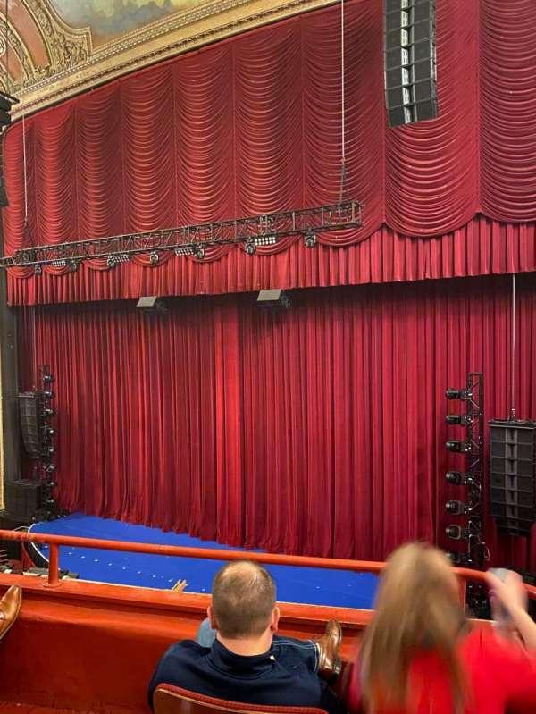Chicago Theatre, vak: Loge2R, rij: Cc, stoel: 204