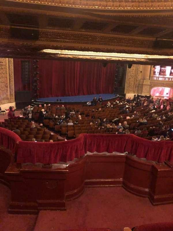 Chicago Theatre, vak: Booth T, stoel: 1