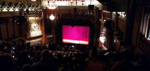 5th Avenue Theatre, vak: Upper Mezzanine R, rij: Y, stoel: 202