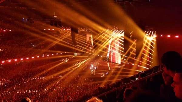 Ziggo Dome, vak: 203, rij: 6, stoel: 78