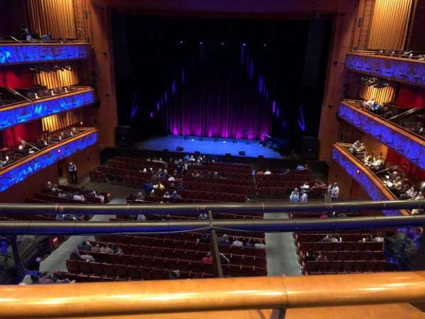 Tobin Center for Performing Arts, vak: Center Mezzanine, rij: A, stoel: 114