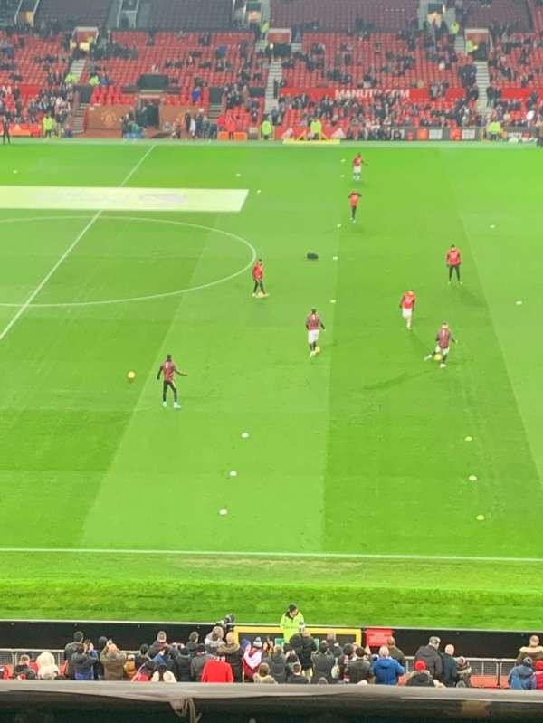 Old Trafford, vak: N5415, rij: 6, stoel: 30