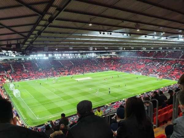 Old Trafford, vak: NE3424, rij: 26, stoel: 22