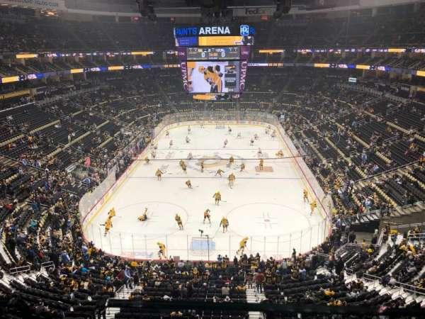 PPG Paints Arena, vak: 228, rij: A, stoel: 2