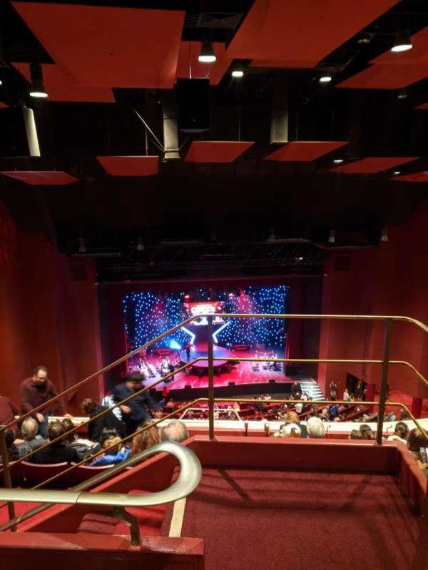 San Diego Civic Theatre, vak: Rbclc, rij: W, stoel: 15