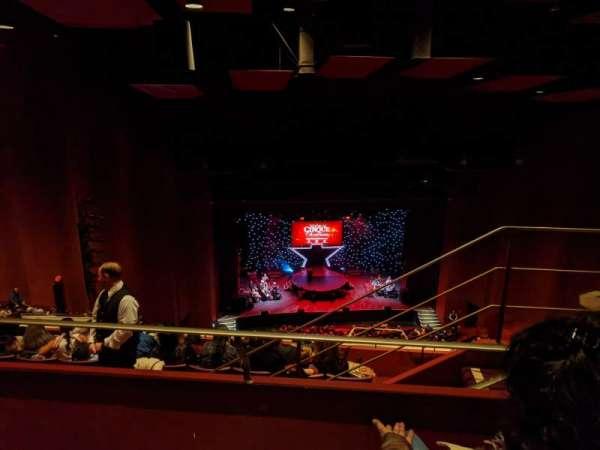 San Diego Civic Theatre, vak: Rbclc, rij: W, stoel: 19